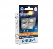 омплект светодиодов Philips X-treme Ultinon LED (T20 / WY21W) 12763X2