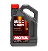 Моторное масло Motul 8100 X-max 0W-30