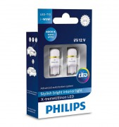 Комплект светодиодов Philips X-tremeUltinon LED (T10 / W5W) 127994000KX2, 127996000KX2, 127998000KX2