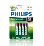 Аккумулятор Philips Rechargeables R03B4A95/10 (AAA)