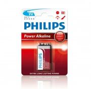 Батарейка `крона` Philips 6LR61 Power Alkaline (6LR61P1B/10)