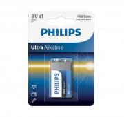 Батарейка `крона` Philips 6LR61 Ultra Alkaline (6LR61E1B/10)