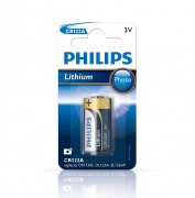 Батарейка Philips CR123A Lithium (CR123A/01B)