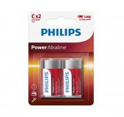 Батарейки Philips C Power Alkaline (LR14P2B/10)