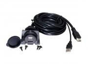 Универсальный удлинитель USB / HDMI с розеткой Connects2 CT29AX26