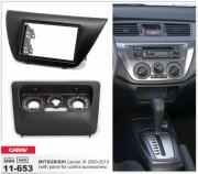 Переходная рамка Carav 11-653 для Mitsubishi Lancer IX 2000-2010, 2 DIN