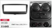 Переходная рамка Carav 11-645 для Fiat Palio (326) 2011+, 1 DIN