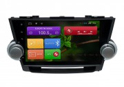 Штатная магнитола RedPower 31035 IPS для Toyota Highlander II U40 Android 6.0.1 (Marshmallow)