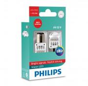 Комплект светодиодов Philips Vision LED (P21/5W / BAY15D) 12836REDX2