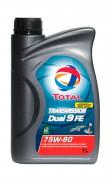Трансмиссионное масло Total Transmission Dual 9 FE 75w-90