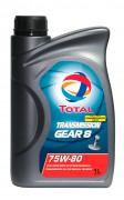 Минеральное трансмиссионное масло Total Transmission Total GEAR 8 75W-80