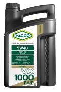 Моторное масло Yacco VX 1000 FAP 5W-40