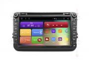 Штатная магнитола RedPower 31004 DVD IPS для Volkswagen, Skoda, Seat (Android 6.0.1+)