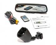 Штатное зеркало заднего вида с монитором и видеорегистратором Phantom RMS-430 DVR Full HD-3B для Citroen, Peugeot