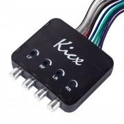 4-х канальный конвертер уровня Kicx HL04MS