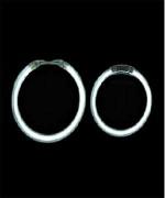 Белые ангельские глазки Galaxy 2.8' (70мм)