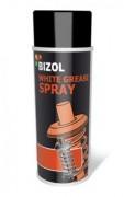 Белая смазка-спрей с тефлоном Bizol White Grease Spray (400ml)