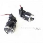 Монолинзы Infolight H3 ПТФ (противотуманные фары) без масок