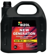 Моторное масло Bizol New Generation SAE 5W-30