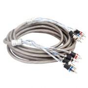 Межблочный кабель витая пара Kicx RCA-04 PRO (4,9м)