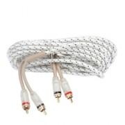 Межблочный кабель двойная изоляция Kicx FRCA25 (5м)