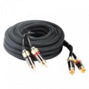 Межблочный кабель тройная изоляция Kicx RCA-05 (5м)