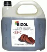 Незамерзающая жидкость в бачок омывателя с ароматом кофе Bizol (4л)