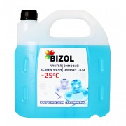 Незамерзающая жидкость в бачок омывателя с ароматом парфюма Bizol (4л)