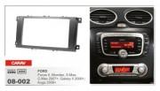 Carav Переходная рамка Carav 08-002 Ford Kuga 2008+, Focus II 2007+, Mondeo 2007+, C-Max 2007+, S-Max 2007+, Galaxy 2006+, 2 DIN