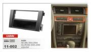 Carav Переходная рамка Carav 11-002 Audi A6 (4B) 2002-2004, Allroad 2000-2006, 2 DIN / 1 DIN