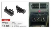 Carav Переходная рамка Carav 11-005 Audi A2 2000+, A3 2000, A4 1999-2001, A6 1997-2000, A6 2003-2004, 1 DIN
