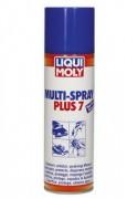 Мультиспрей `7 в одном` Liqui Moly Multi-Spray Plus 7 (аэрозоль 300ml)