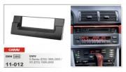Carav Переходная рамка Carav 11-012 BMW 5-Series (E39) 1995-2003, X5 (E53) 1999-2006, 1 DIN