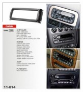Carav Переходная рамка Carav 11-014 Dodge / Jeep / Plymout / Chrysler, 1 Din