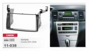 Carav Переходная рамка Carav 11-038 Toyota Corolla (2001 - 2006), 2 DIN