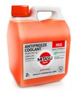 Антифриз Mitasu RED ANTIFREEZE/COOLANT CONCENTRATE MJ- 611 (концентрат красного цвета)