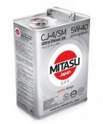Моторное масло Mitasu ULTRA DIESEL CJ-4/SM 5W-40 (MJ-211)