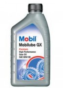 Минеральное трансмиссионное масло Mobil Mobilube GX 80W-90  GL4