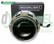 Би-ксеноновые линзы Moonlight G5 H1 2.5` (65мм)
