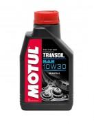 Минеральное мотоциклетное трансмиссионное масло Motul Transoil 10W-30 (1л)