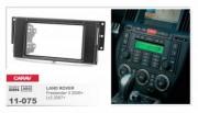 Carav Переходная рамка Carav 11-075 Land Rover Freelander II 2006+, Lr 2 2007+, 2 DIN