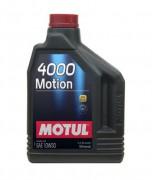 Моторное масло Motul 4000 Motion 10W30
