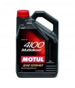 Моторное масло Motul 4100 Multi Diesel 10W40