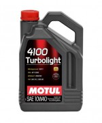 Моторное масло Motul 4100 Turbolight 10W40