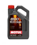 Моторное масло Motul 8100 Eco-clean 5W-30 C2