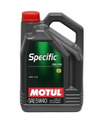 Моторное масло Motul Specific CNG/LPG 5W-40