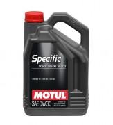 Моторное масло Motul Specific VW 506.01 506.00 503.00 0W30