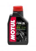 Полусинтетическое мотоциклетное масло для телескопических вилок Motul Fork Oil Expert Medium/Heavy 15W (1л)