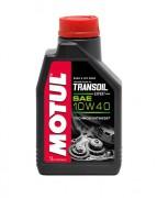 Полусинтетическое мотоциклетное трансмиссионное масло Motul Transoil Expert 10W-40 (1л)