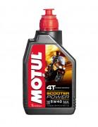 Моторное масло для скутеров Motul Scooter Power 4T 5W-40 MA (1л)